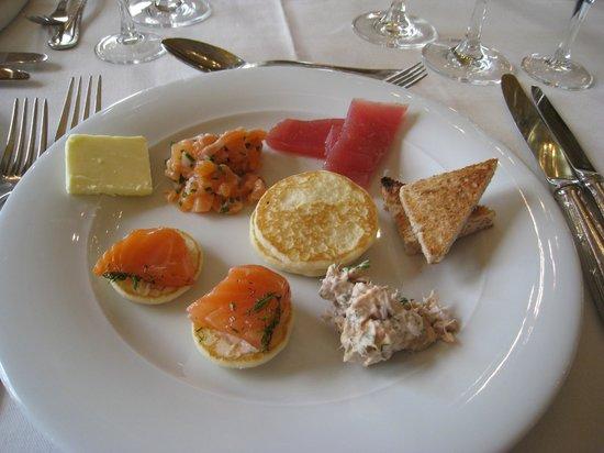 InterContinental Carlton Cannes : 1ere assiette