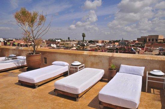 Riad 72: The terrace