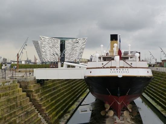 SS Nomadic: Nomadic and the Titanic Centre
