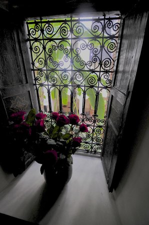 Riad 72: One of the stairwells