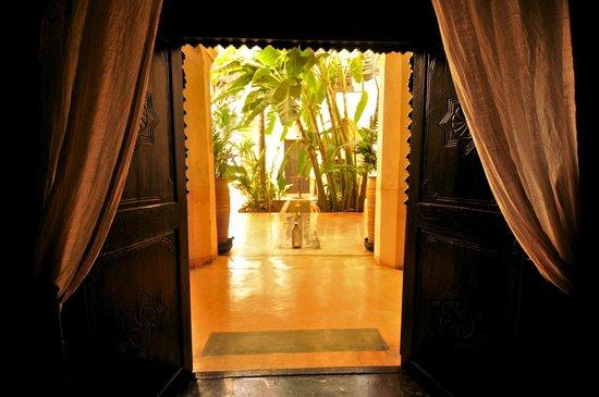 Riad 72: The courtyard