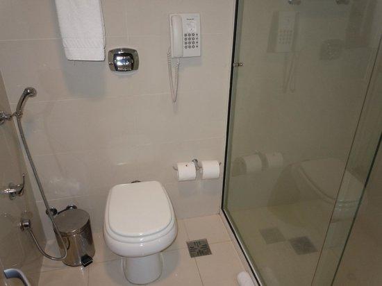 Intercity Montevideo: Banheiro