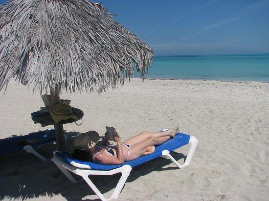 Blau Privilege Cayo Libertad Hotel: beautiful private beach