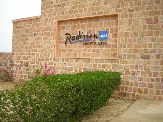 Radisson Blu Resort, El Quseir: l'ingresso