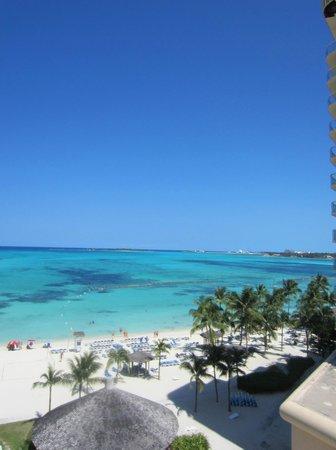 Melia Nassau Beach - All Inclusive: View from beach of resort