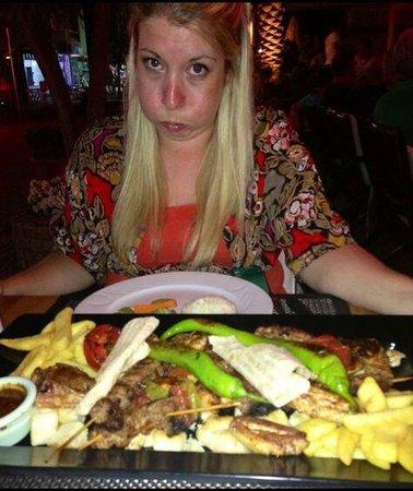 Kibele Restaurant : Generous!