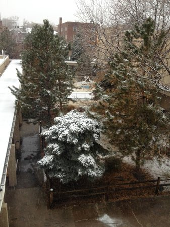 Ramada Denver Downtown: view from our window