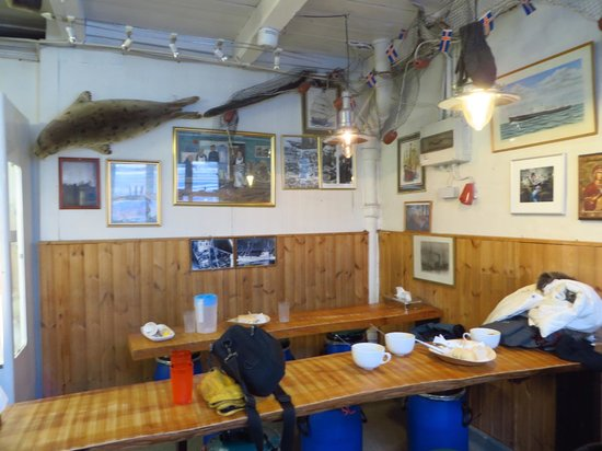 Saegreifinn - The Sea Baron : The dining room