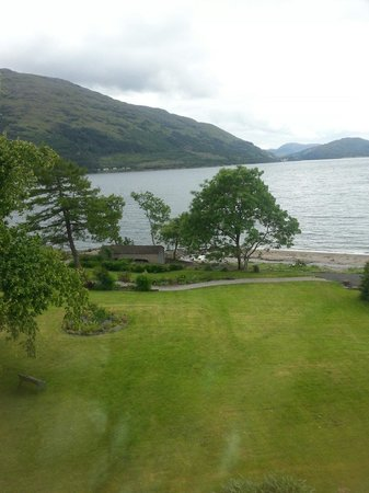 Onich Hotel : View from our room . July2013