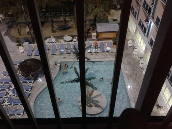 Captains Quarters Resort: Pools from our baloney