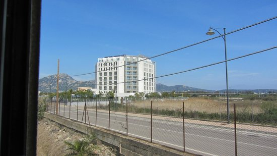 Doubletree by Hilton Olbia: View from the train