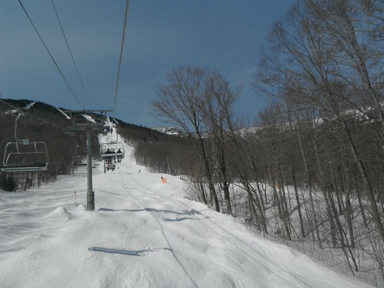 The Village Green at Stowe : Mt Mansfield lift