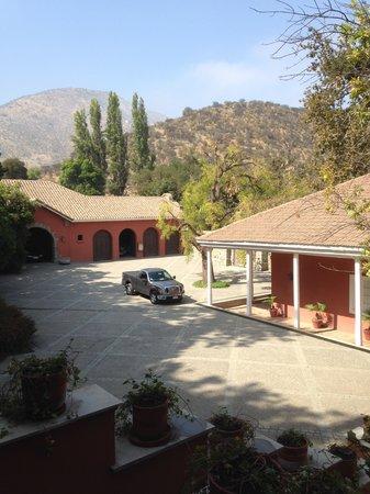 Casa Real Hotel at Santa Rita Vineyards : Courtyard