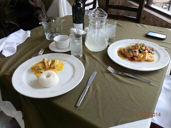 Inkallpa Valle Sagrado: Comedor