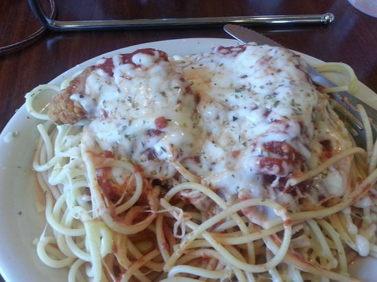 Granelli's Pizzeria: chicken parmesan