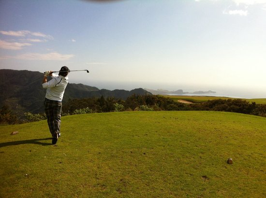Santo da Serra Golf : Hole #4, volta Machico