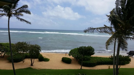 Waipouli Beach Resort: LEFT View from Lanai