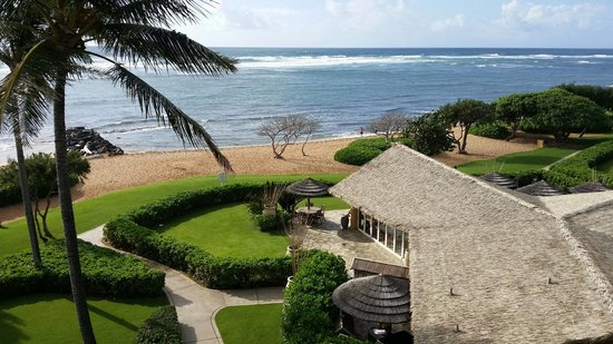 Waipouli Beach Resort: RIGHT View from Lanai