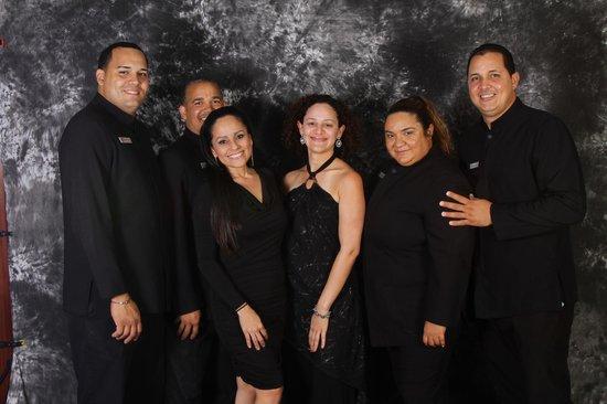 La Concha Renaissance San Juan Resort: Hotel Team, Bernice Davila and I.