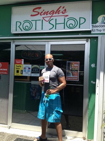 Singh's Roti Shop & Bar: Front of store