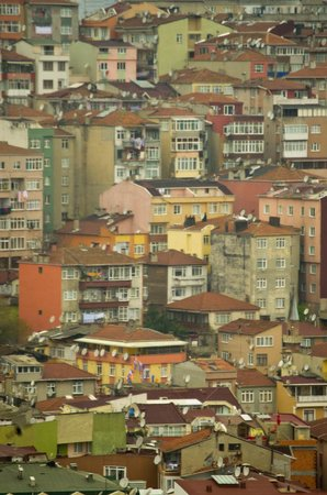 Istanbul Apartments Istiklal: A view of Beyoglu & Fatih from Troy