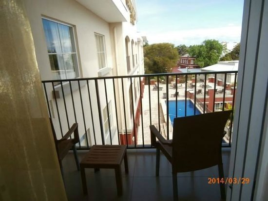 Courtyard by Marriott Bridgetown, Barbados: Balcony
