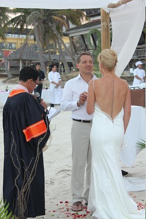 Samui Paradise Chaweng Beach Resort: wedding ceremony