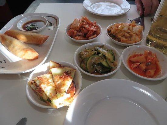 Yeo-Bo's Cafe Korean BBQ: Yeo-Bo's Banchan -- pickled side vegetables