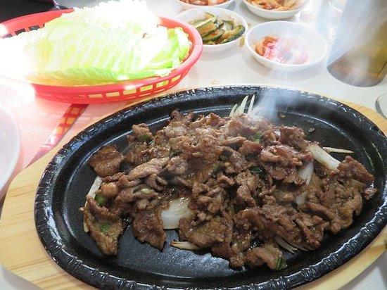 Yeo-Bo's Cafe Korean BBQ : Bulgogi