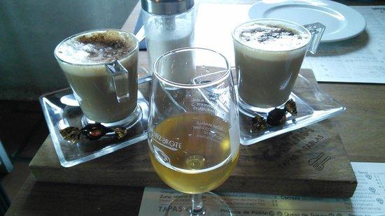 La Cantina : Local wine and coffee