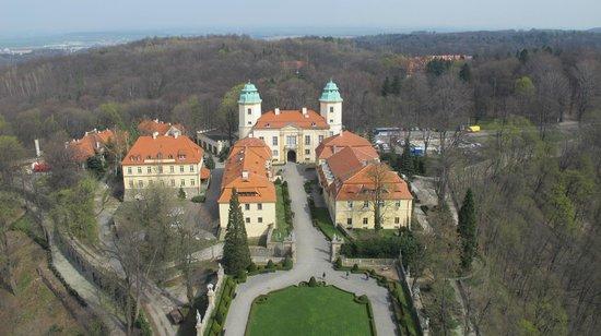 Ksiaz Castle: The Gate & Hotel for  Książ Castle