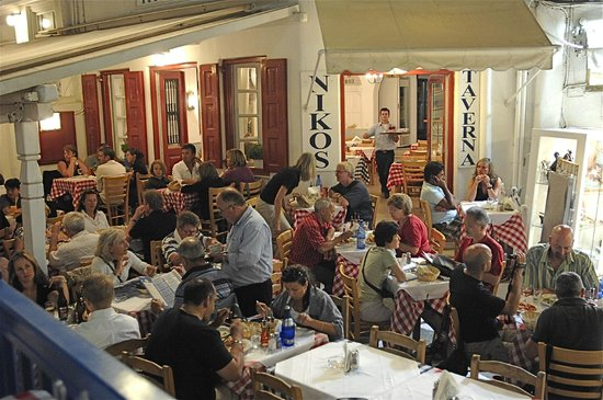 Niko S Taverna Mykonos Town Restaurant Reviews Photos Phone Number Tripadvisor