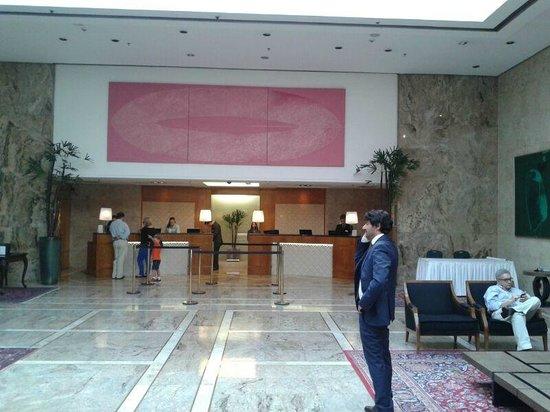 Hotel Transamerica Sao Paulo: Lobby