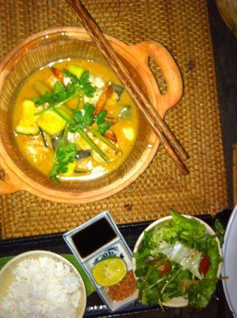 Mango Bay Resort: Prawn curry
