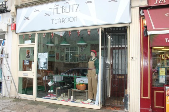 ‪The Blitz Tearoom‬
