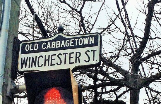 Cabbagetown: Winchester Street - Parliament Street