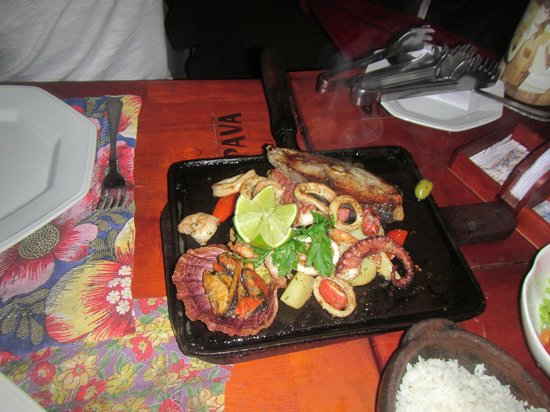 Restaurante Pé na Areia: This is an order for ONE person (60% of the price for 2).