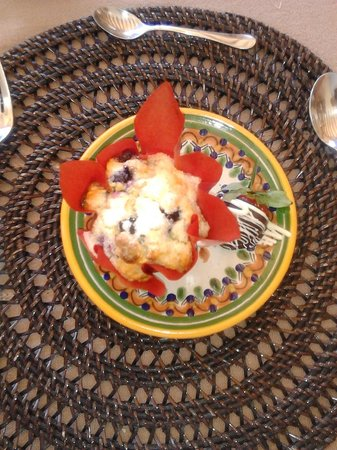 Casa Chocolate Bed and Breakfast : Our surprise dessert simply delicious