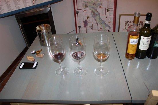 Tuscan Wine School - Siena: Our Samples