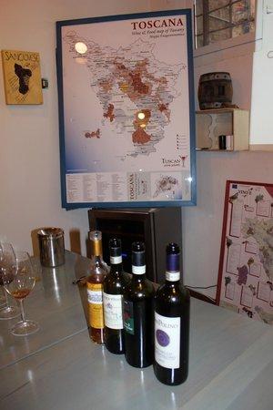 Tuscan Wine School - Siena: Map of Tuscany