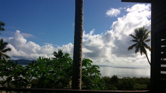 The Remote Resort - Fiji Islands: View from our Villa