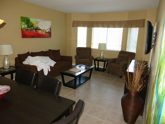 Silver Lake Resort: Living room