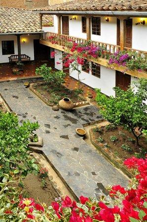 Casa Vieja: Vista interior del hotel
