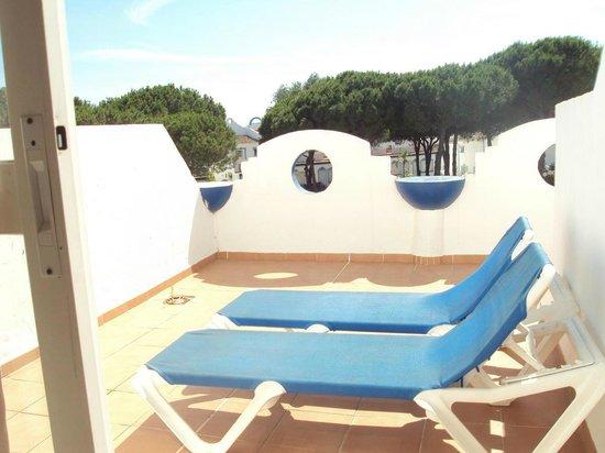 Vime la Reserva de Marbella : Terraza del apartamento.
