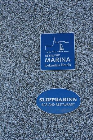 Icelandair Hotel Reykjavik Marina: hotel signage