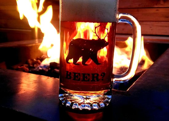 Basecamp South Lake Tahoe: A beer by the fire pit