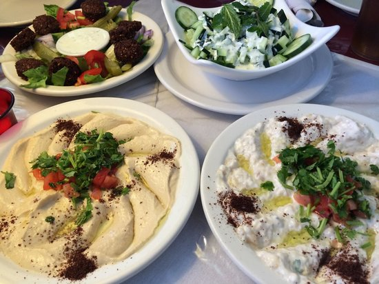 Lar's Greek House: Veggie delights!