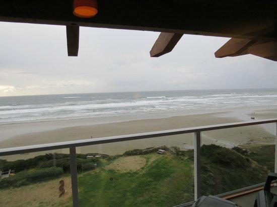 Hallmark Resort: View from the sliding doors