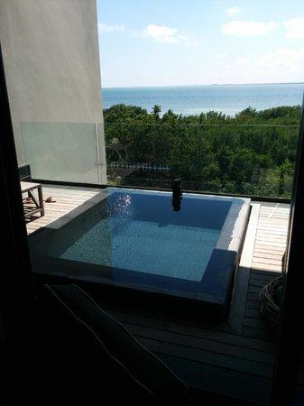 NIZUC Resort and Spa : Ocean vw plunge pool room