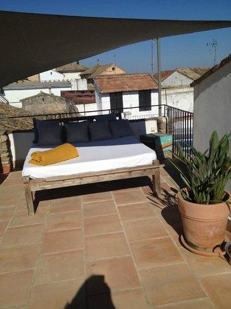 Balcon de Cordoba: private terrace